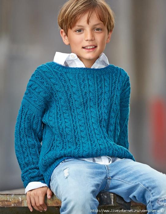 Вязание для мальчика подростка свитера 88