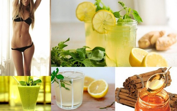 напиток медово имбирный рецепт для похудения