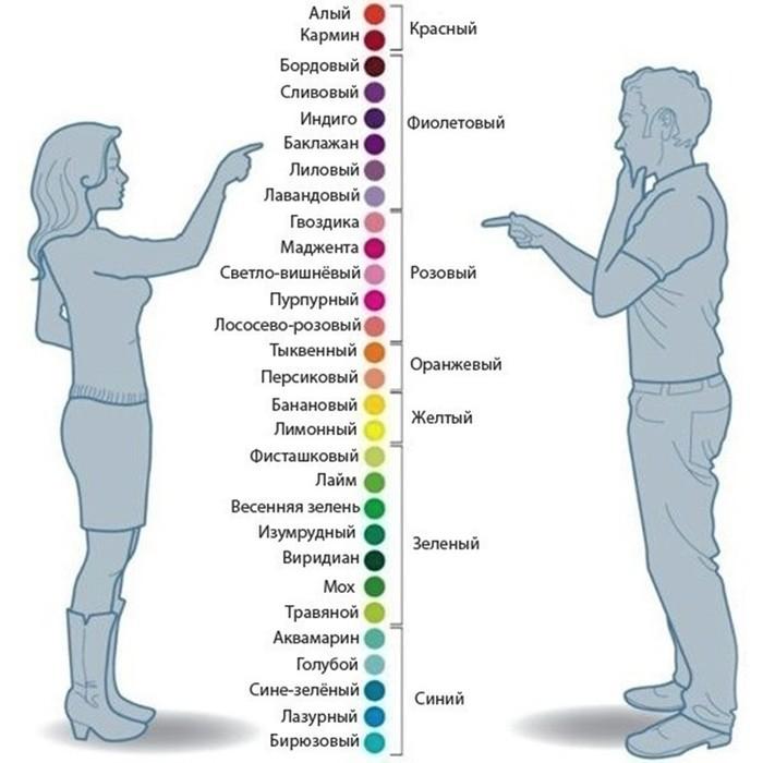 Как мужчины и женщины смотрят на одни и те же вещи