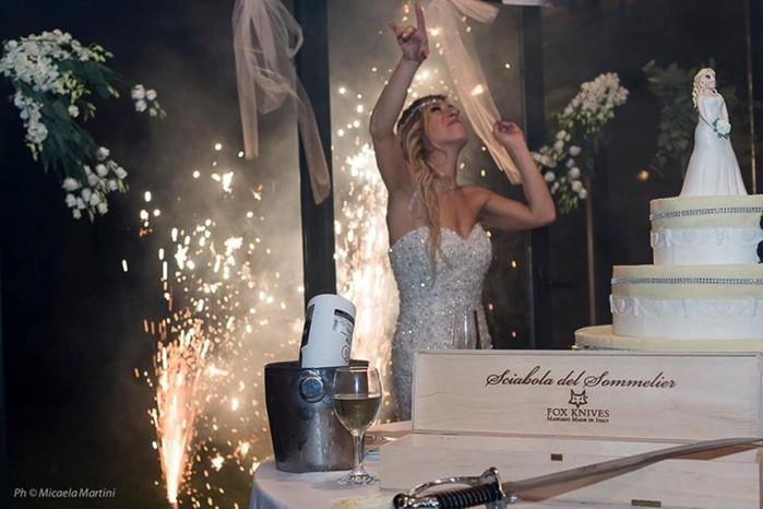 Итальянка вышла замуж без жениха