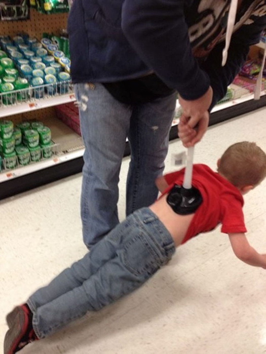 """Parent is always right! Top """"creative"""" parents according to the Walmart supermarket chain"""