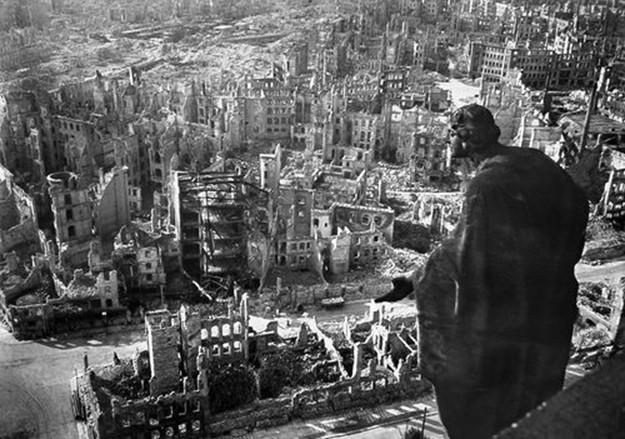Города, разрушенные авианалетами во Вторую мировую