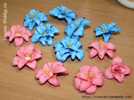 Бумагопластика. Цветы из акварельной бумаги (19) (450x337, 119Kb)