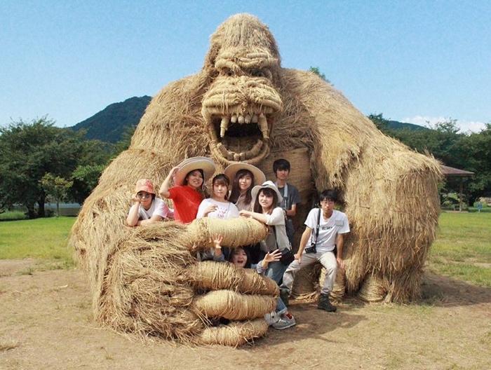 японский фестиваль соломенных скульптур 8 (700x528, 413Kb)