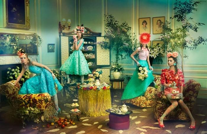 Girls&Flowers   фотосессия «Девушки и цветы»