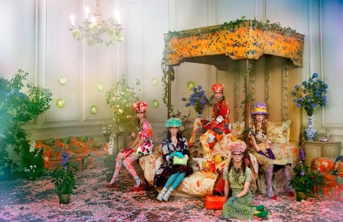 Girls&Flowers— фотосессия «Девушки и цветы»