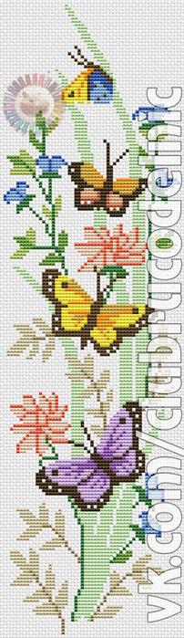 Butterfly Fantasy (202x700, 215Kb)