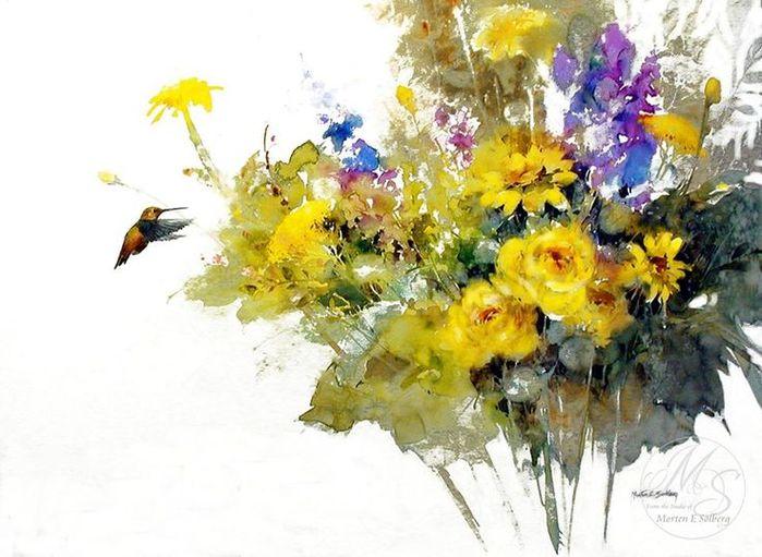 3ad4afccde30d98035b7de24c4bd769a--watercolors-bouquets (700x511, 67Kb)