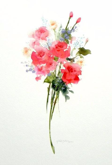 Sweetheart Bouquet (477x700, 209Kb)