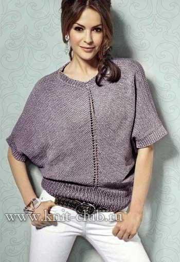1415040544_svobodnyj-vjazanyj-pulover-spicami (350x509, 28Kb)