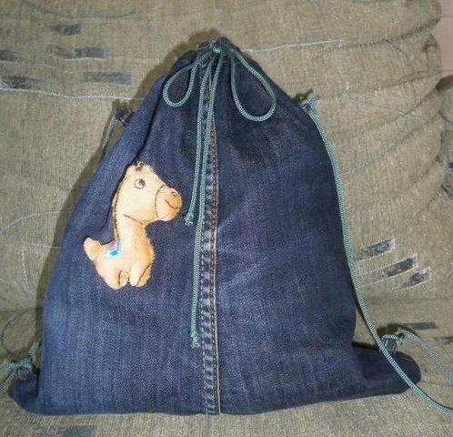 Сшить детские  из джинсов своими руками