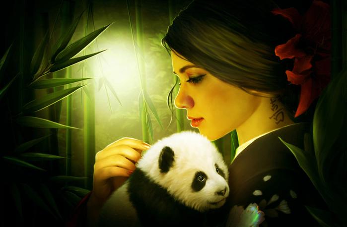 little_panda_by_elenadudina-d7ys35p (700x458, 281Kb)