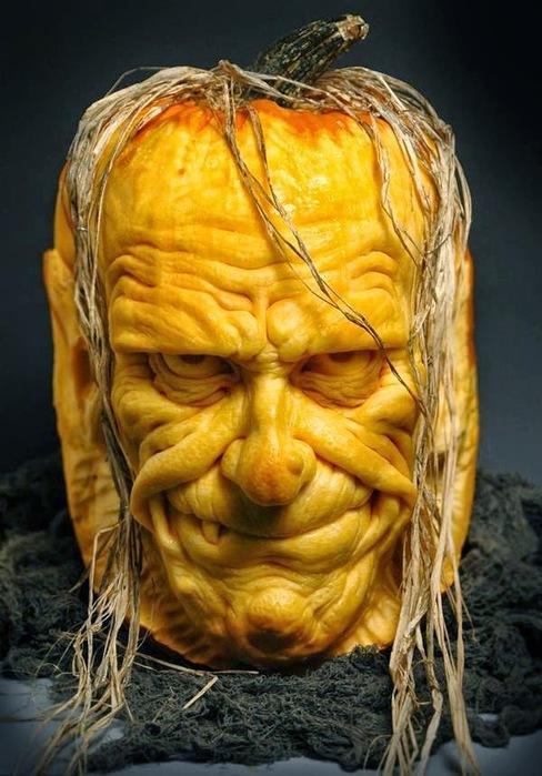 Pumpkin on Halloween By Jon Neill001 (688x900, 112Kb)