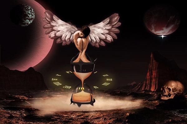 11. Ангел и время (600x400, 142Kb)