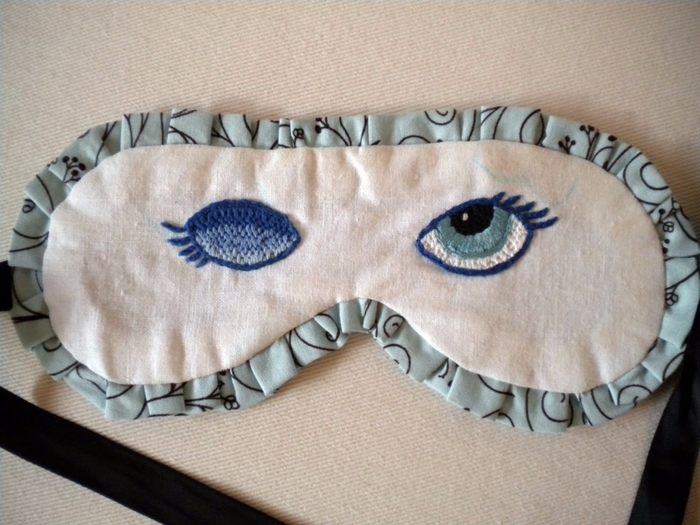 Как сшить себе маску для сна 471