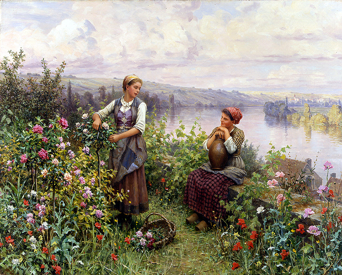 5685413_15040039_Daniel_Ridgway_Knight__On_the_Terrace_at_Rolleboise (699x562, 518Kb)