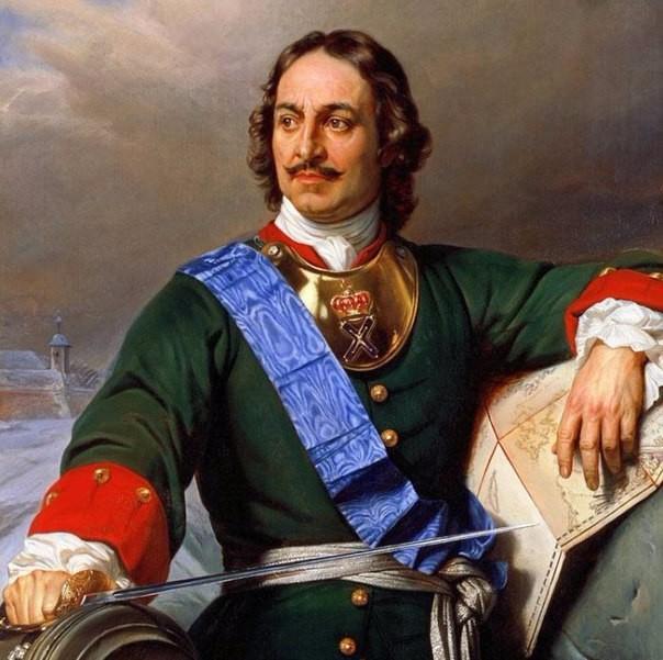 Пётр Первый - Алексеевич, 1672-1725 гг, царь с 1682 года, император с 1721 года. Преобразователь-реформатор получивший почётное прозвище Великий (604x601, 270Kb)