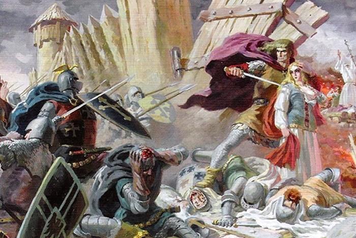 В Литве обнаружены развалины легендарного замка самоубийц