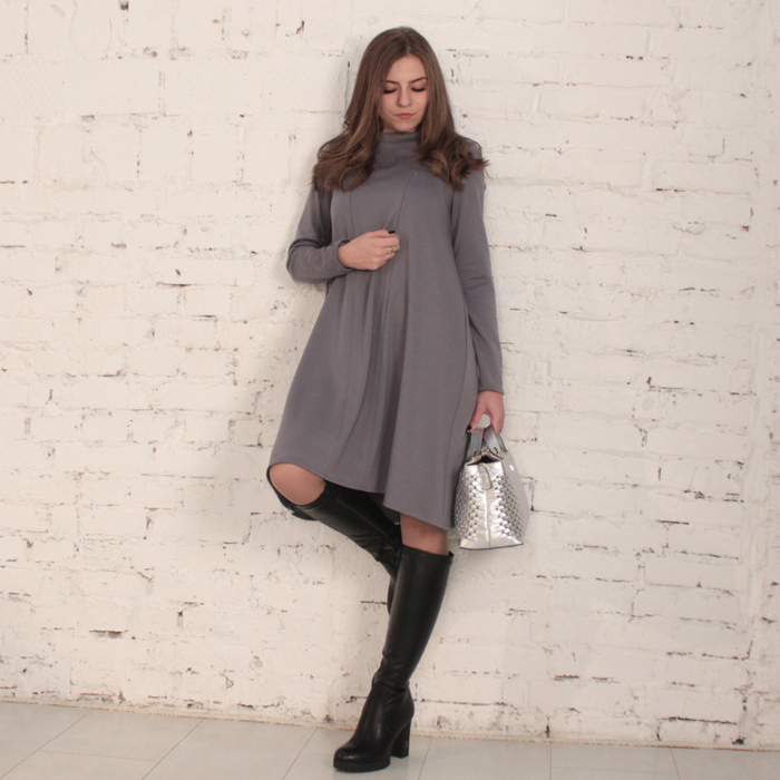 платье для кормления серое (700x700, 504Kb)