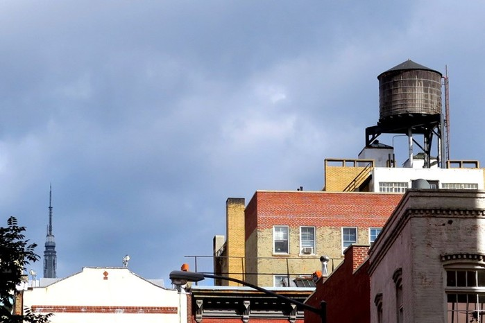 Любопытное про водонапорные башни Нью-Йорка