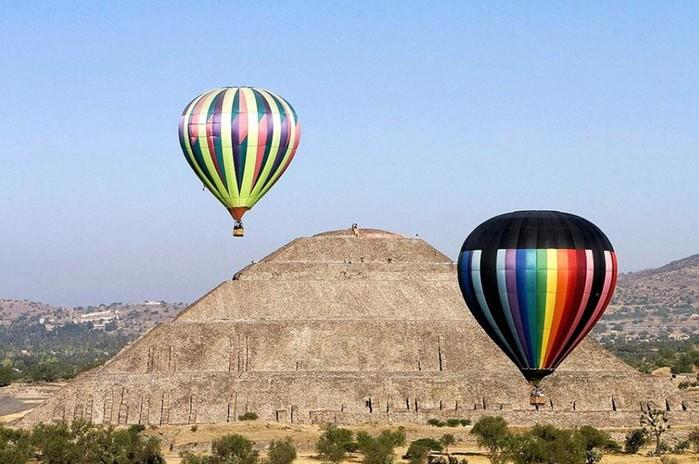 Полеты на воздушных шарах