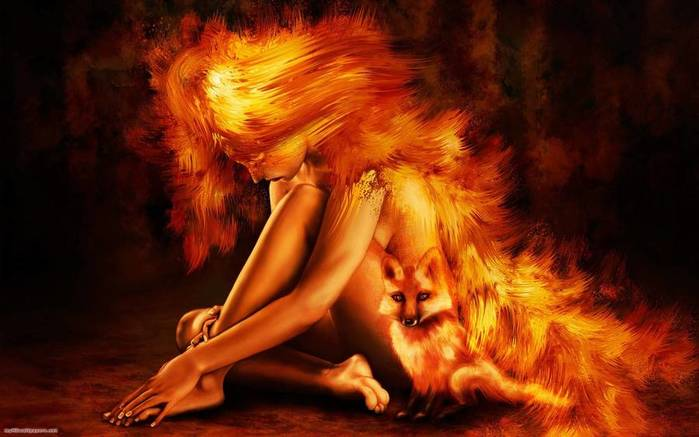 230577-wallpapers-fire-girl-fox (700x437, 39Kb)
