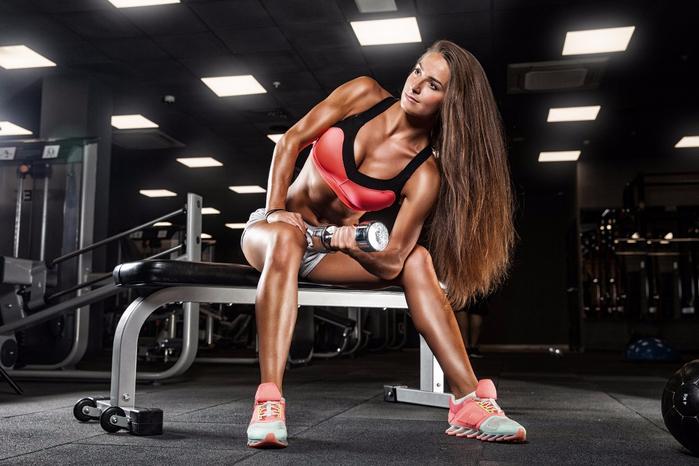 Бодибилдинг-тренировки-девушка-Фитнес-Спортивные-SH64-гостиная-Главная-современное-искусство-Декор-деревянной-раме-ткань-плакатов-печатает (700x466, 293Kb)