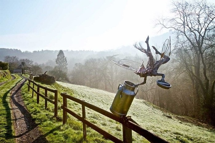137809401 101817 1407 15 Изящные проволочные скульптуры британца Робина Уайта