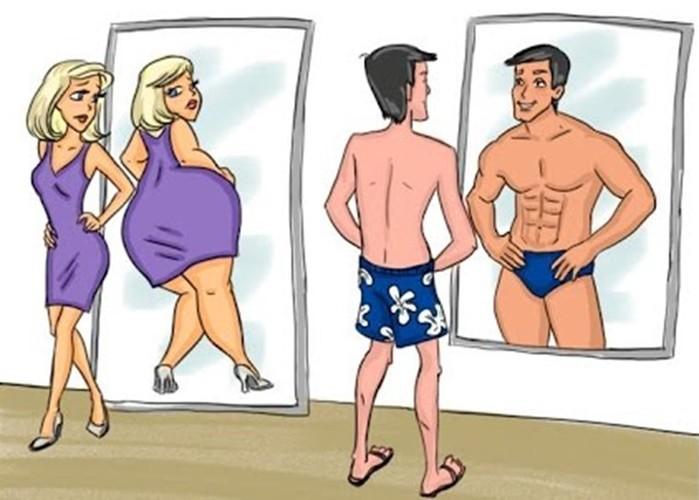 5 примеров, когда мужчины и женщины видят совершенно по-разному