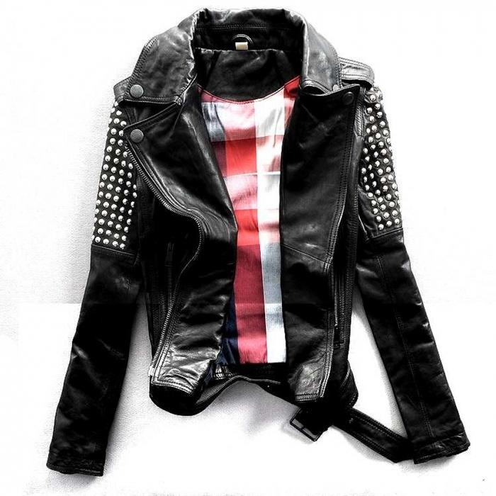 черная куртка женская
