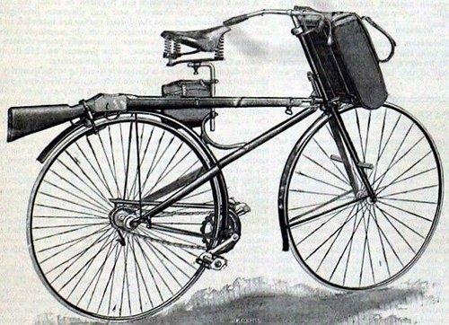 Как воевали на велосипедах
