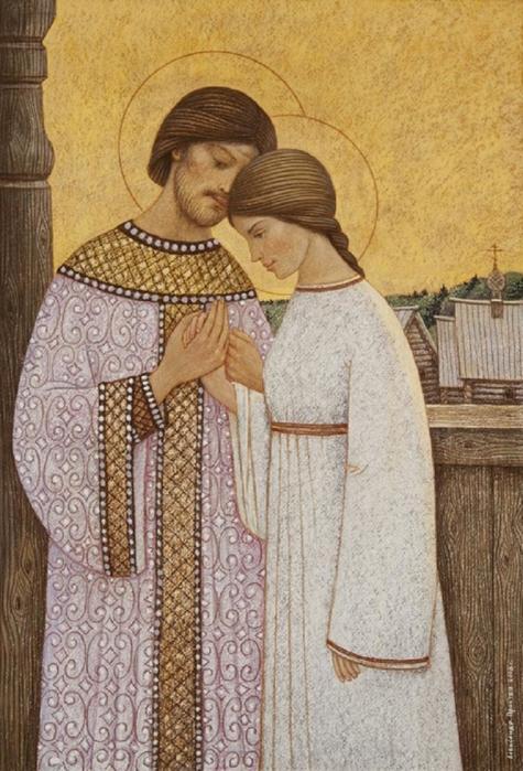 Каким святым нужно молиться, чтобы выйти замуж