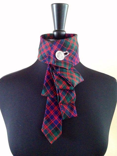 Сшить женский галстук своими руками