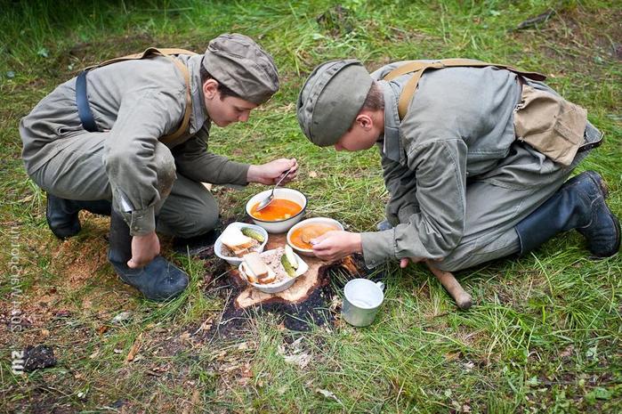 Смекалка у советских солдат во время Великой Отечественной