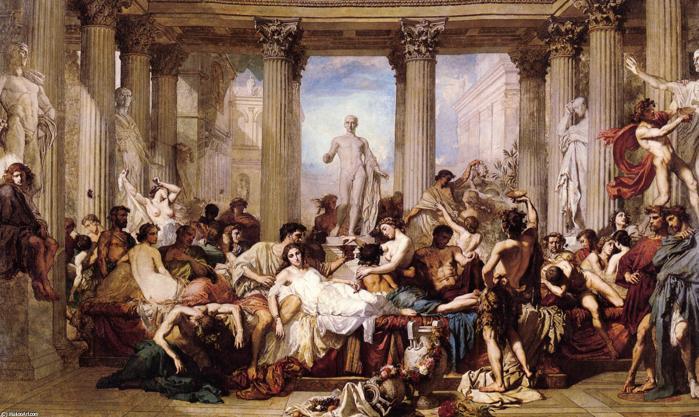 Как пала Римская империя