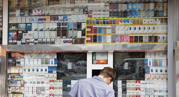 From November 15, the type of cigarette packs will change