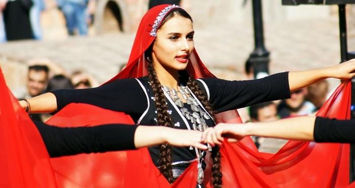 Почему грузины были рыжими