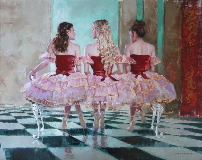 Ballerinas+Red+24x30_5900 (700x552, 449Kb)