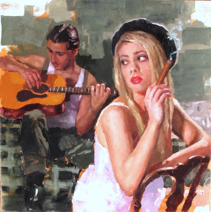 Fiztpatrick_Study+for+Bonnie+and+Clyde_12x12_oil_1200 (697x700, 531Kb)