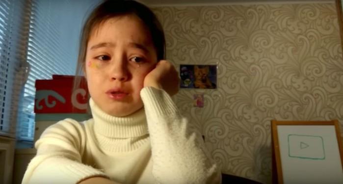 10 летняя видеоблогер расплакалась из за сорвавшейся фан встречи