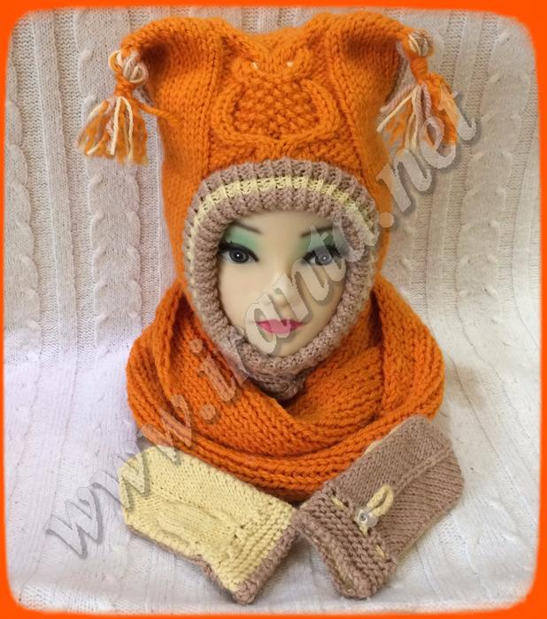 Комплект Little orange owl. 5 (618x700, 498Kb)