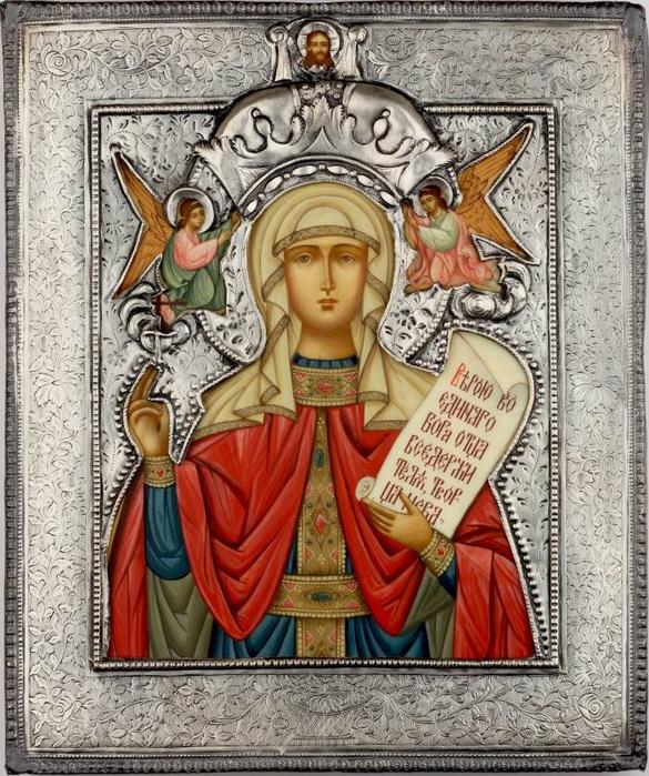 Параскева Пятница святая мученица (585x700, 474Kb)