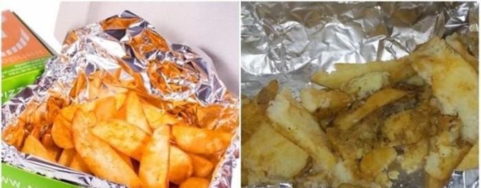 Ожидание и реальность при заказе красивой еды