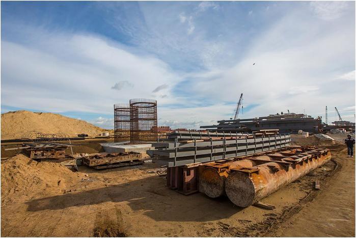Как продвигается строительство Крымского моста