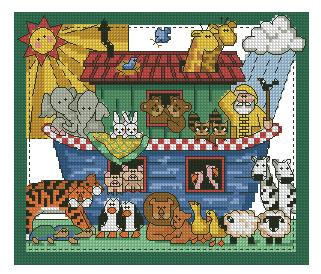 Dimensions 00252 - Country at heart - Noah's ark (321x274, 111Kb)