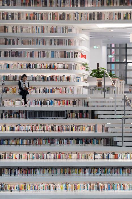 Око Бінхай найбільша бібліотека в світі