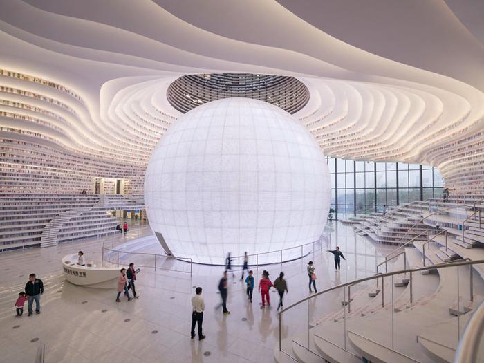 Око Бинхай самая большая библиотека в мире