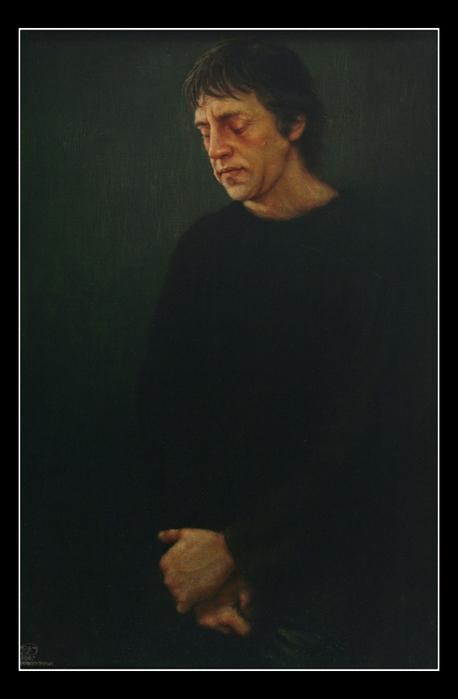 Дверин Константин Генрихович - Портрет Владимира Высоцкого (2007) (458x700, 281Kb)