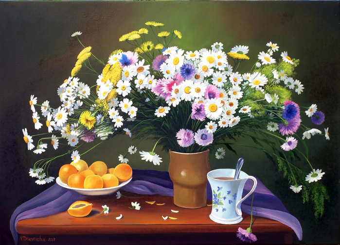 Деревенчук Владимир натюрморт 12 (700x505, 414Kb)