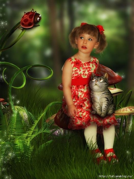 фотоарт девочка и кошка/3071837_24 (525x700, 284Kb)